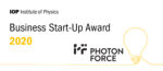 Institute Of Physics Business Start-Up Awards 2020 – Photon Force Presents At Winners Webinar